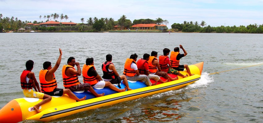 Water Activities in Bentota
