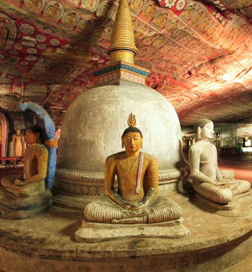 Dambulla cave Temple - Sri Lanka Travel Triangle
